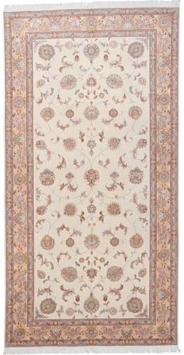 12x6 50 Raj Faraji Tabriz Persian rug. Signed faraji Tabriz Persian carpet.