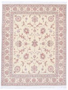 8x6 Tabriz Persian Rug with silk