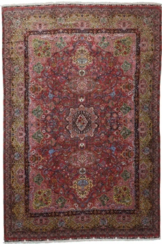 16x11 65Raj 500kpsi signed Tabriz Persian rug