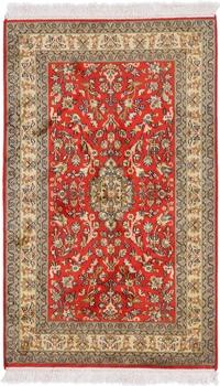 4x2 350KPSI silk Kashmir Persian rug, 18/18 kashmir carpet