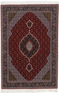 5x3 Mahi tabriz persian rug with 350 kpsi.