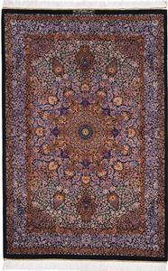 900 KPSI 5x3 Pure Silk Qum Persian rug